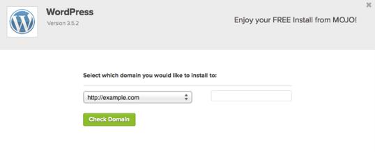 WordPress: Install WordPress