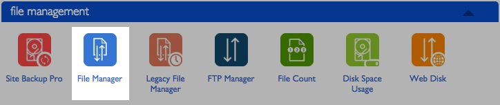 The file manager icon.