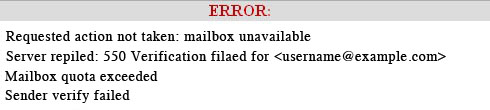 mailbox quota exceeded how to fix