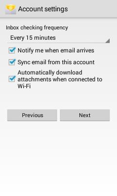 Account Options