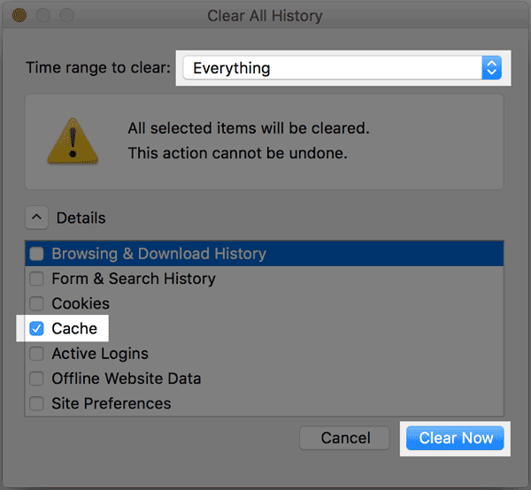 How to Clear Your Browser Cache - Bluehost
