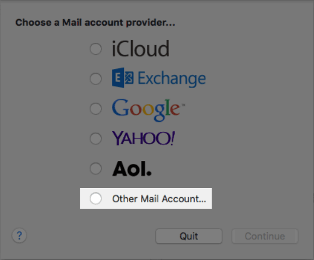 Apple Mail Email Setup - How To Add New Email Address In Mac