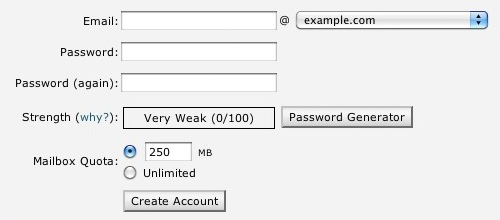 Create a new Email Address - Knowledgebase - Professional Web ...