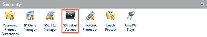 Bluehost开通SSH