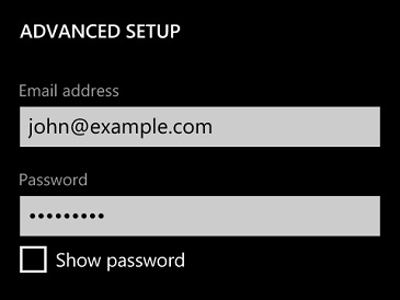 how to show internet password windows 8